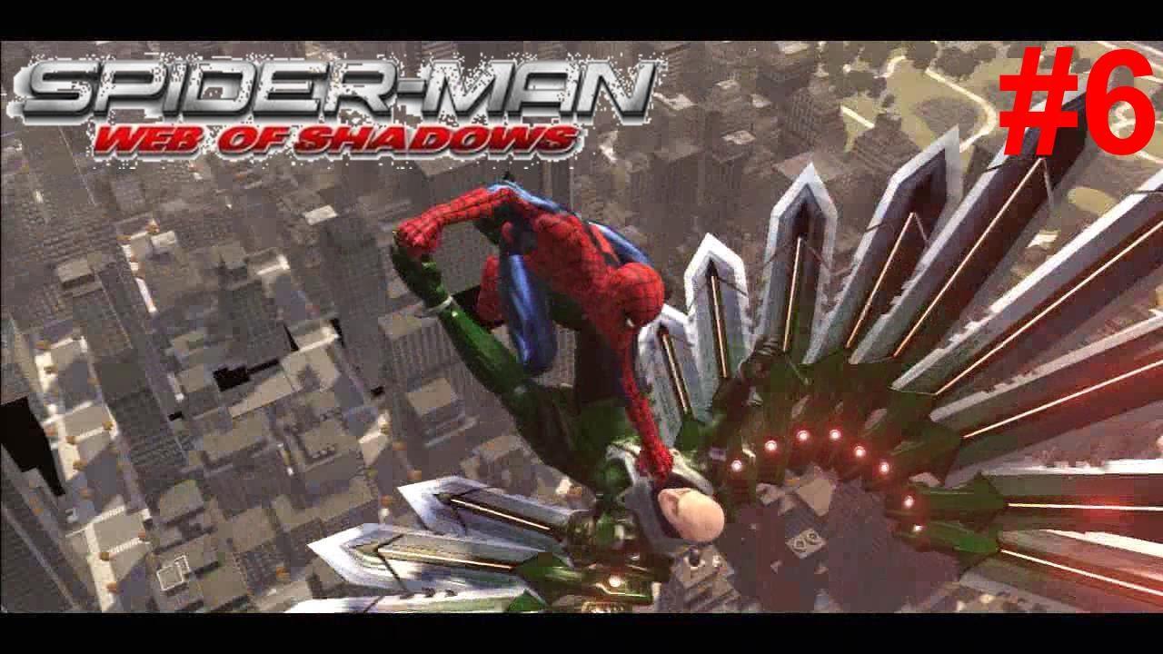 Spider-Man Web Of Shadows Gameplay #6 [Spidey VS Vulture ...