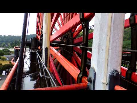 The Great Laxey Wheel, Isle of Man