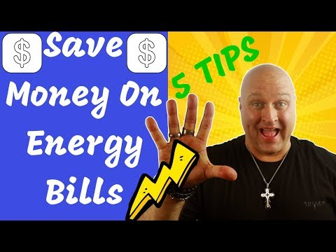 How to Save Money on Energy Bills (Lower Utility Bills and Save Money)