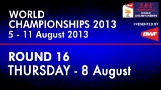 R16 - MD - Ko S.H./Lee Y.D. vs Lee S.M./Tsai C.H. - 2013 BWF World Championships