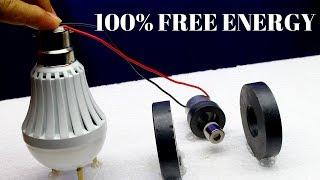 Free Energy Generator,Free Energy Generator by Using Magnets - Free Energy Light Bulbs 230v
