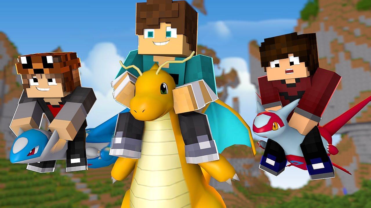 Minecraft: PokeRace - Latios E Latias Novos Lendarios