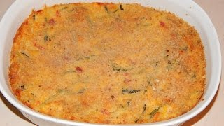 Thanksgiving Side Dish -cheesy Squash And Zucchini Casserole