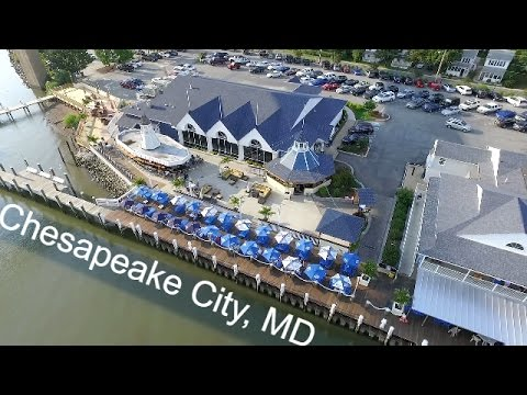 Chesapeake City, MD from above
