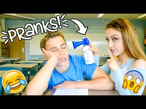 Pranks for Back to School! Prank Wars!! 2017