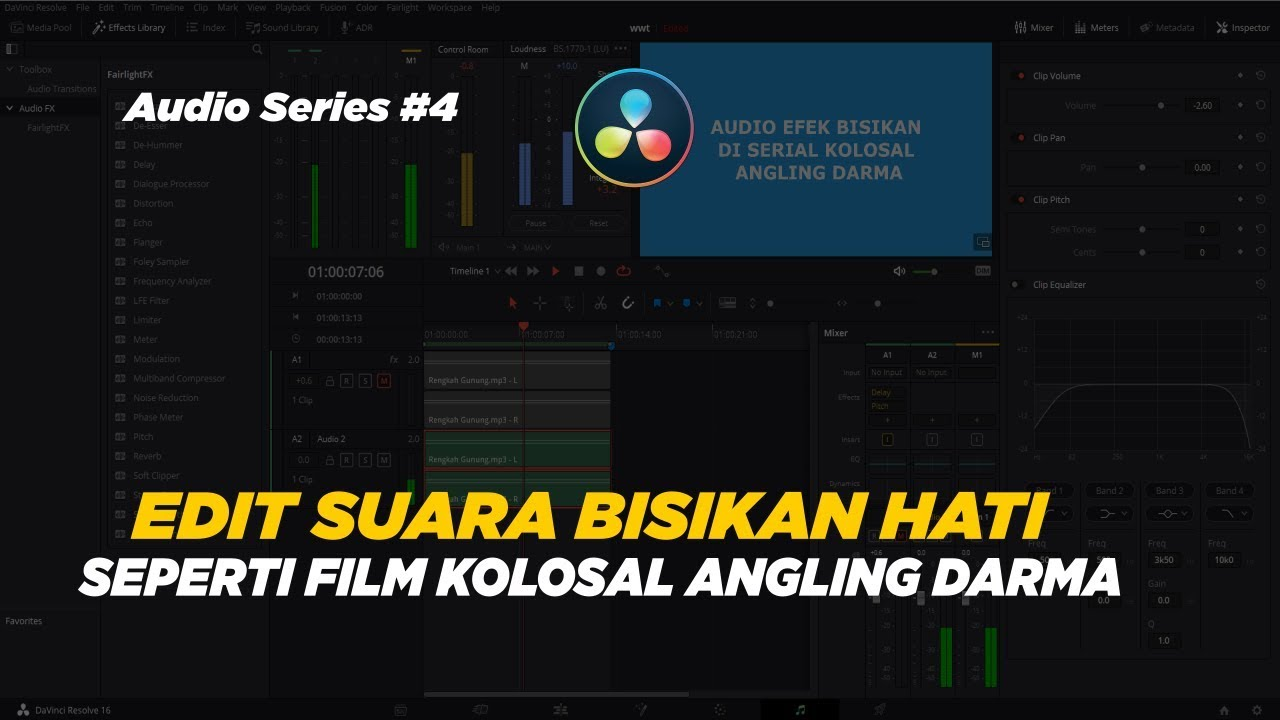 CARA EDIT SUARA BISIKAN HATI SEPERTI FILM ANGLING DARMA DI ...