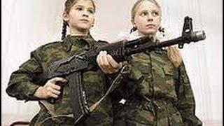 Девушки в ополчении Новороссии  Война на Донбассе