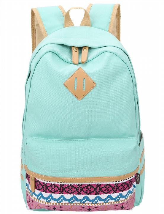 Leaper Casual Style Canvas Laptop Backpack/School Bag/Travel ...