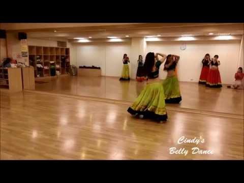 Cindy老師印度舞.肚皮舞教學舞碼:Ghagra裙擺搖搖
