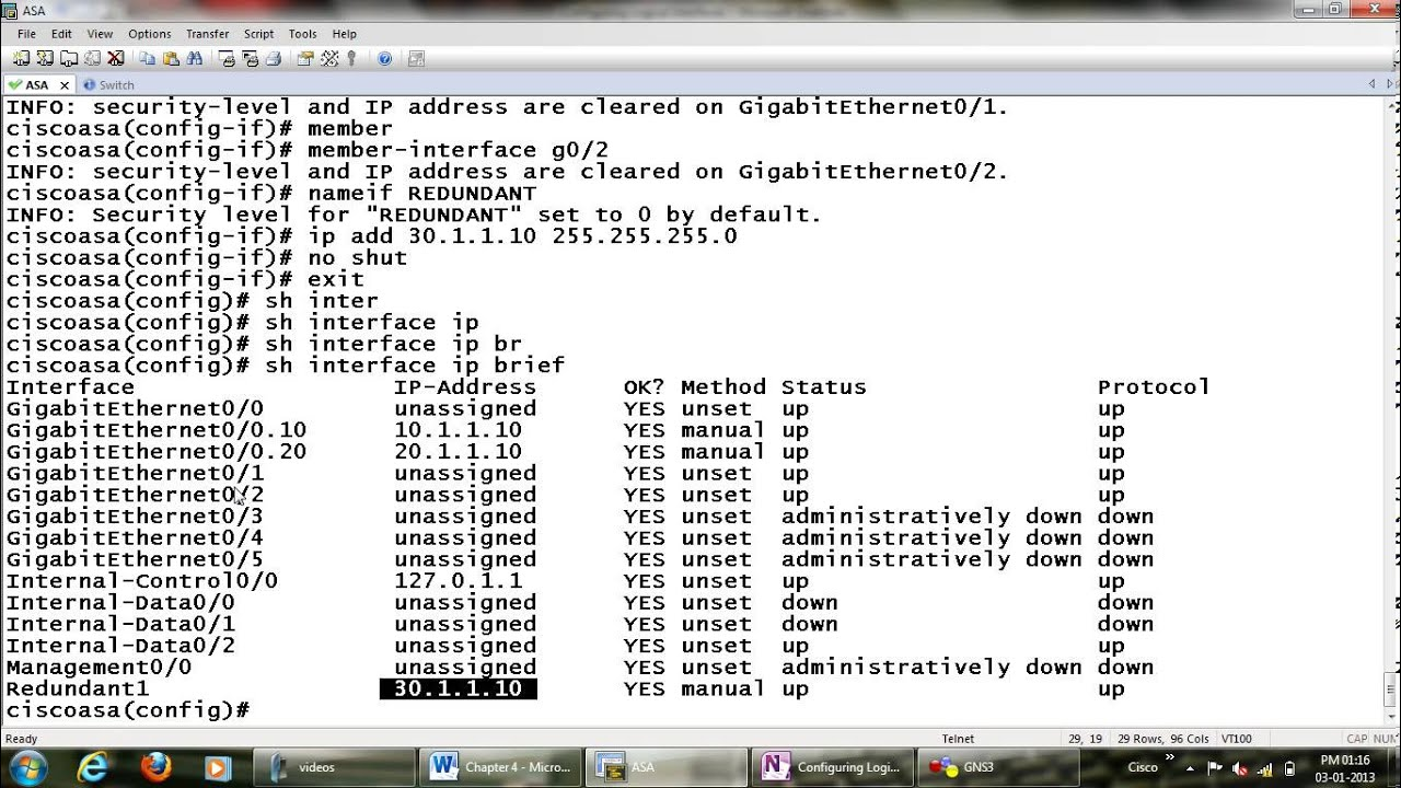Configuring logical interface on cisco ASA-Cisco CCIE ASA configuration  videos from Networkers Home