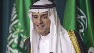 شاهد..وزير الخارجية السعودي يحرج صحفيًا أراد الاستهزاء بتاريخ المملكة