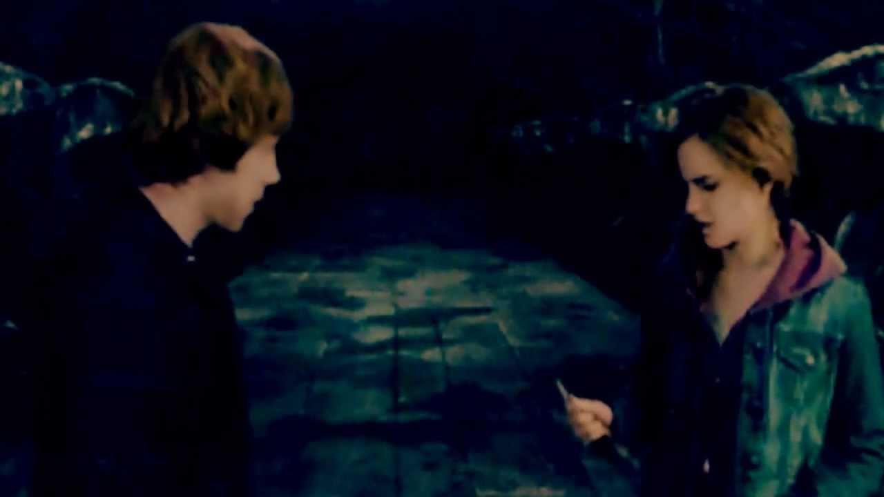 do ron és Hermione a vérhercegben randiznak