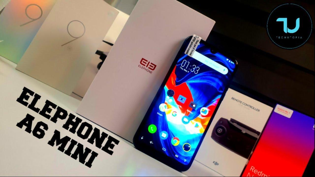 Elephone A6 Mini 5 71 Inch HD+ Android 9 0 3180mAh Side Fingerprint 4GB  32GB MT6761 Quad Core 4G Smartphone