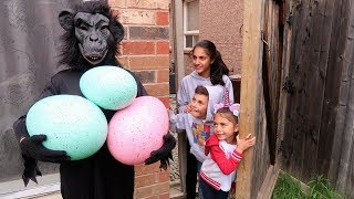 Kids Surprise Eggs with Candy  Pretend Play