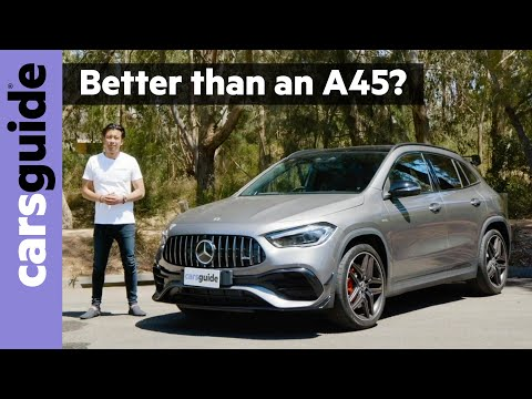 Mercedes-AMG GLA 45 S 2021 review - Forget the hot hatch - this is the hottest small SUV available!