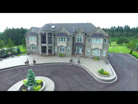 Caledon Mansion Aerial Video