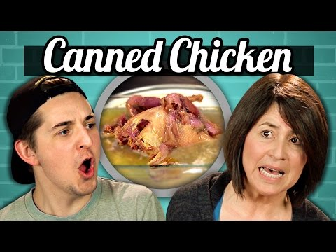 ADULTS vs. FOOD - CANNED WHOLE CHICKEN