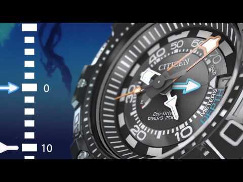 Citizen Promaster Aqualand 200M Depth Meter