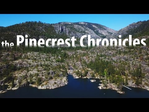 The Pinecrest Chronicles  - Ep. 02 - FIRE!  Kayak Trout Finesse Fishing At Pinecrest Lake Inlet