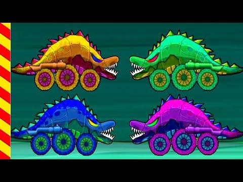 Машина ест машину 3. Злые зубатые машинки все подряд 25 МИН. Монстр-машины догоняют драконов