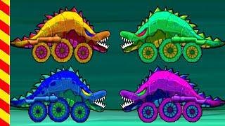 Машина ест машину 3. Злые Машинки все подряд 25 МИН. Мультик Монстр-машины догоняют драконов