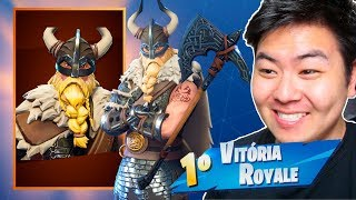 I BOUGHT THE NEW SKIN OF MAGNUS * VIKING * AND VENCI!! -Fortnite Battle Royale
