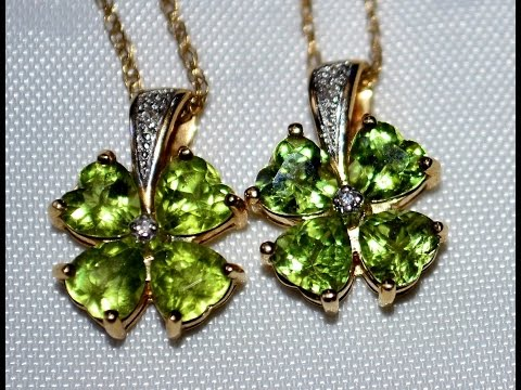 Garage Sale Gold Finds Peridot Necklace and Sterling Silver Jewelry | Thrift Hunter #80