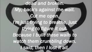 Lost It All - Black Veil Brides (Lyrics)