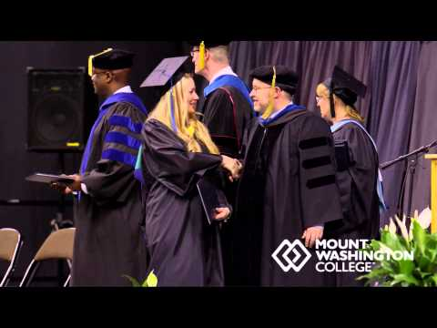 2014 Mount Washington College Graduation for Bachelor of Science - Business Admin (SIB)