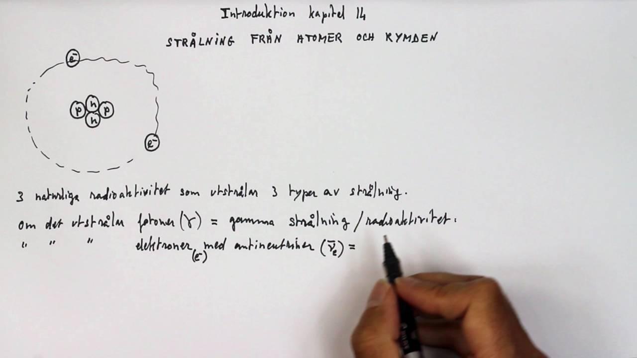 Gy Fysik 1 Heureka Kap 14 Strålning från atomer och rymen - Kapitelintroduktion