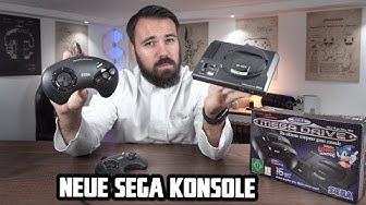 Die NEUE Konsole von Sega | Originale Sega Mega Drive Mini Unboxing + angetestet! Dr. UnboxKing