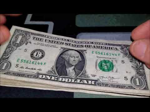 INK ERROR?! Bill Searching For Error Notes And Fancy Serial Numbers
