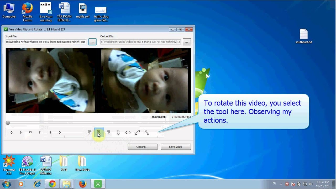 How to rotate video 90 180 degrees high quality and free youtube how to rotate video 90 180 degrees high quality and free ccuart Images