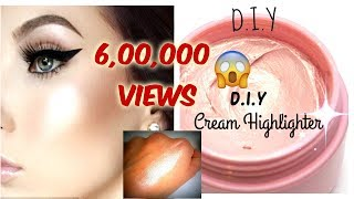 DIY Cream Highlighter in Rs.20 (Hindi) | Make Your own Highlighter At Home | SuperBeautyDezires