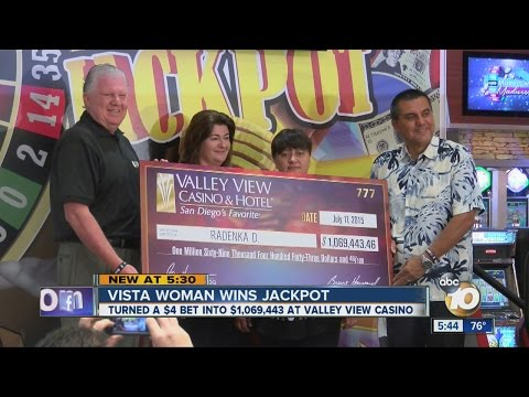 Vista woman wins million dollar jackpot