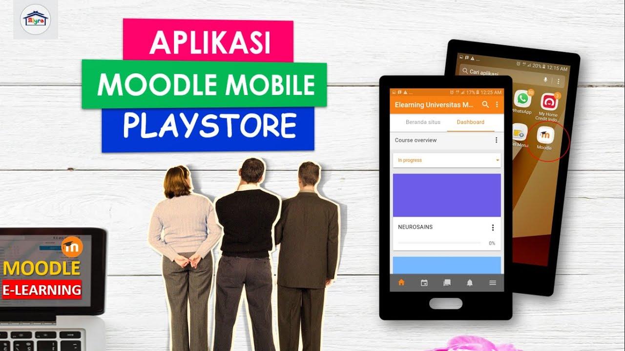 Bagaimana Cara Menggunakan Moodle Mobile E-Learning ? - YouTube