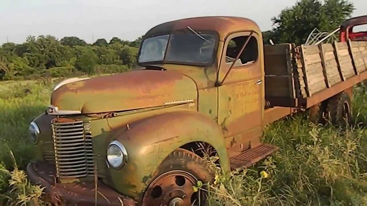 Parting Out 1947 International Kb 5 Truck Selling Parts