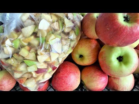 Правильная заморозка Яблок на зиму. Пищеварение Сердце Холестерин Печень Диета Зубы Похудение Диабет
