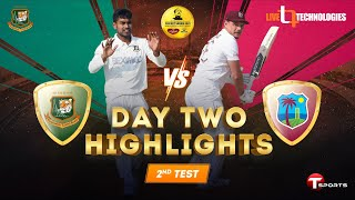 Full Highlights   Bangladesh vs West Indies   2nd Test Day 02   West Indies tour of Bangladesh, 2021