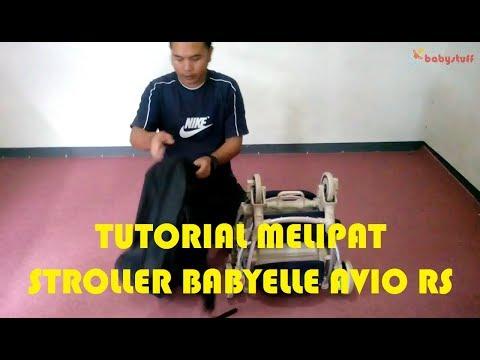 Tutorial Melipat Stroller Babyelle AVIO RS