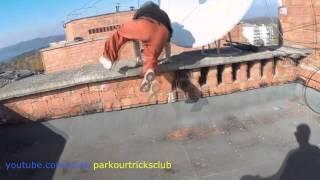 Паркур по крышам на грани смерти