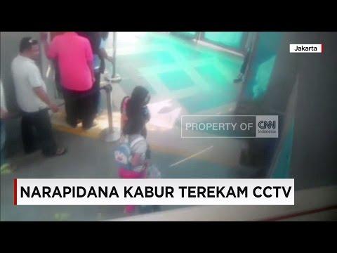 Menyamar, Narapidana Kabur Terekam CCTV Mp3