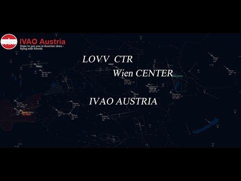 🔴 IVAC V2 Livestream IVAO | LOVV_CTR IVAO AUSTRIA RFE Munich 16/09/2017