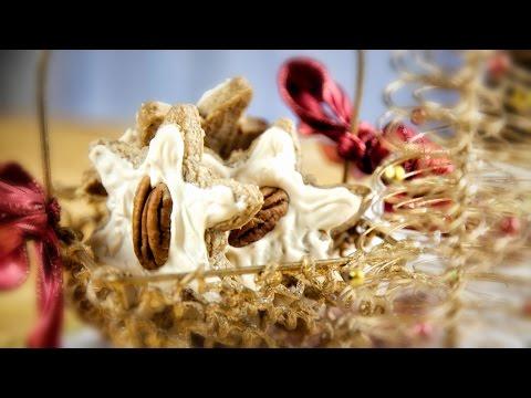 Christmas Star Cookies - Gwiazdeczki Swiateczne (Gluten Free and low carb) - Christmas Recipe #191