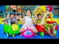 Sky Go To School | Sky And Close Friends Have Fun In The House Happy Children Toys City 2