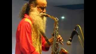 TAGORE on SAX - Aji Jhorer Ratey - MICHAEL