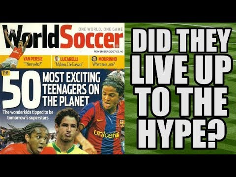 15 Of World Soccer's Most Exciting Teenagers In 2007: Did They Live Up To The Hype?