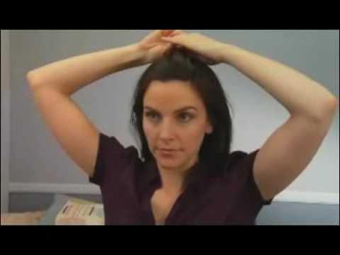 Video clip  Tạo kiểu tóc với kẹp ghim   Video clip Tao kieu toc voi kep ghim   eva vn