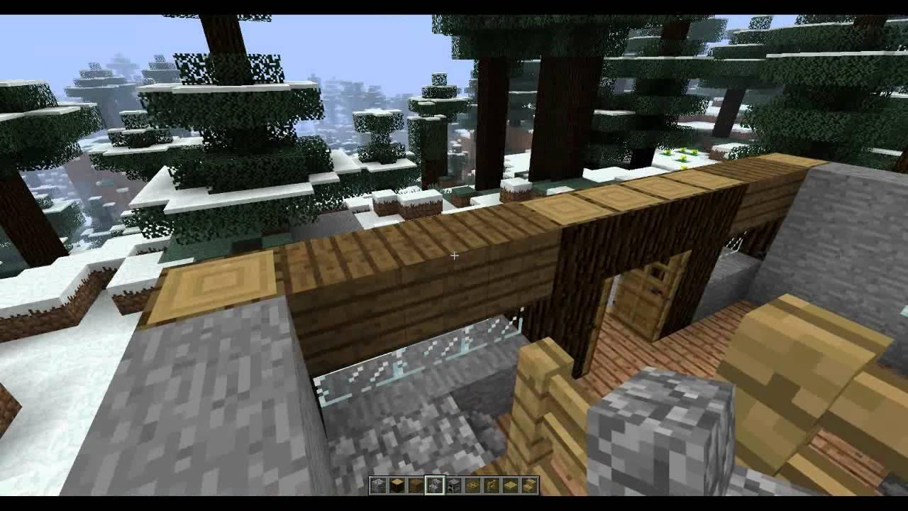 Minecraft tuto construire sa maison youtube - Construire une maison minecraft ...