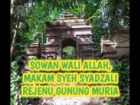 sowan-wali-allah,-makam-syeh-syadzali-rejenu-gurunya-sunan-muria,-keajaiban-air-tiga-rasa